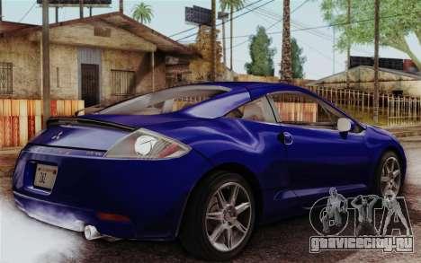 Mitsubishi Eclipse GT v2 для GTA San Andreas вид слева