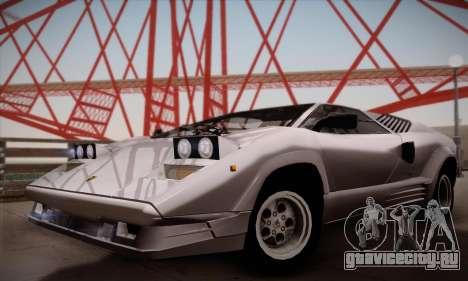 Lamborghini Countach 25th Anniversary для GTA San Andreas