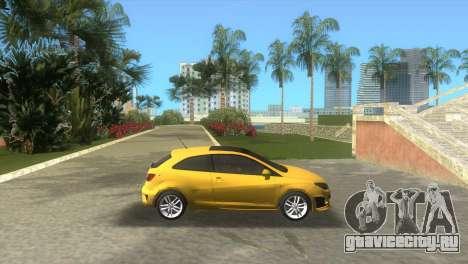 Seat Ibiza Cupra для GTA Vice City вид слева