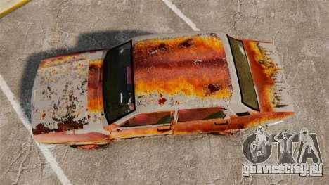 Renault 12 Toros v2.0 Rusty для GTA 4 вид справа