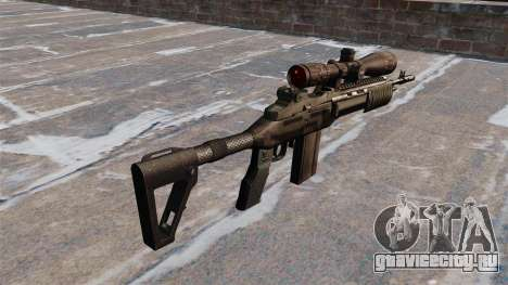 Автоматическая винтовка Mk 14 EBR для GTA 4 второй скриншот