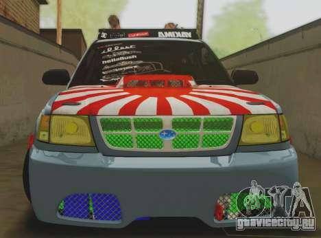Subaru Forester JDM для GTA San Andreas вид слева