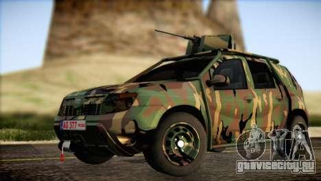Dacia Duster Army Skin 2 для GTA San Andreas