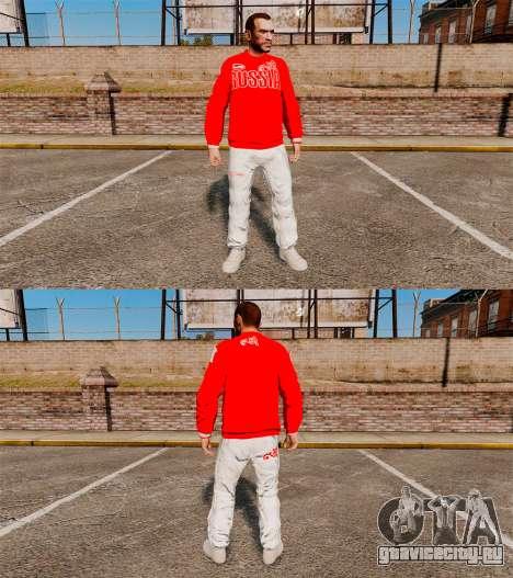 Одежда -Bosco Sport- для GTA 4 третий скриншот