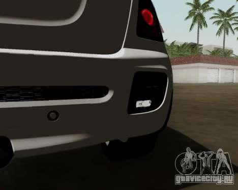 MINI Cooper S 2012 для GTA San Andreas вид сзади