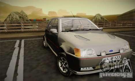 Ford Fiesta Mk3 XR2i для GTA San Andreas вид слева