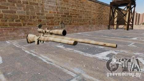 Снайперская винтовка M24 SWS для GTA 4