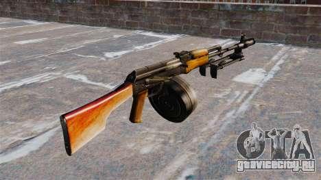 Ручной пулемёт РПК-74 для GTA 4 второй скриншот