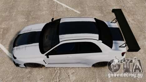Subaru Impreza v2.0 для GTA 4 вид справа