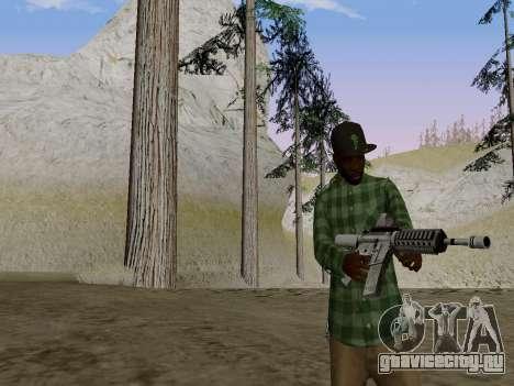 Член банды Grove Street из GTA 5 для GTA San Andreas второй скриншот