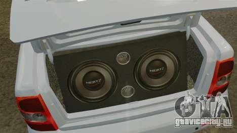 ВАЗ-2170 для GTA 4 вид сбоку