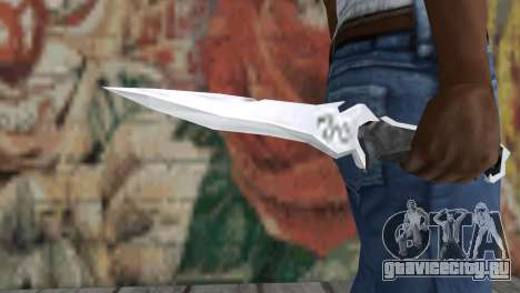Нож Краузера для GTA San Andreas третий скриншот
