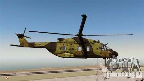 Eurocopter NHIndustries NH90 [EPM] для GTA 4 вид сзади