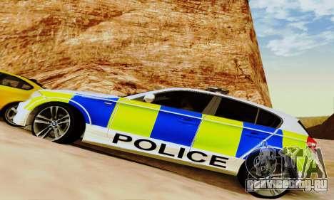BMW 120i SE Police для GTA San Andreas вид сверху
