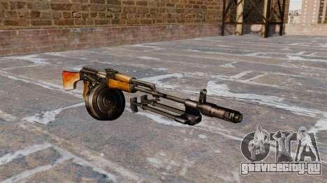 Ручной пулемёт РПК-74 для GTA 4