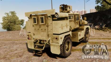 Cougar MRAP 4X4 для GTA 4 вид сзади слева