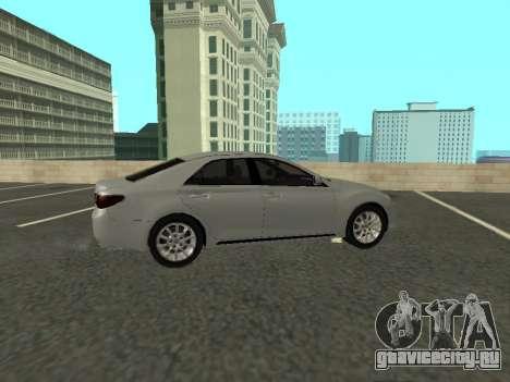 Toyota Mark X для GTA San Andreas вид сзади