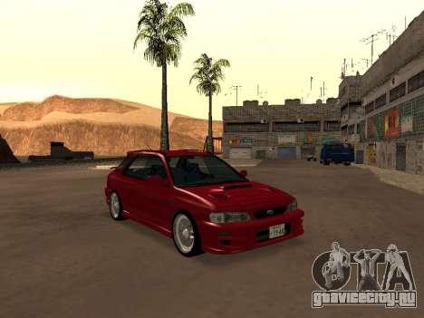 Subaru Impreza Wagon для GTA San Andreas