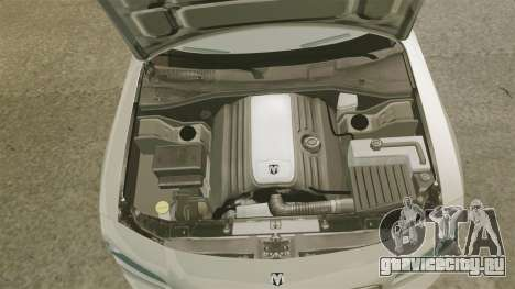 Dodge Charger SE 2006 для GTA 4 вид изнутри