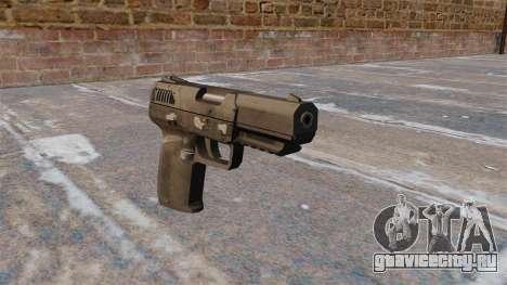 Самозарядный пистолет FN Five-seveN MW3 для GTA 4