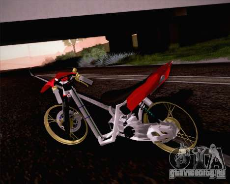 Yamaha Mio для GTA San Andreas вид слева