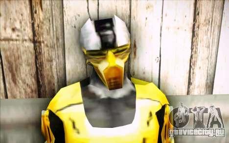 Cyrax для GTA San Andreas третий скриншот
