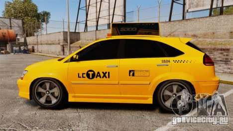 Habanero Taxi для GTA 4 вид слева