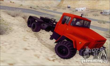 КрАЗ 260В для GTA San Andreas вид справа