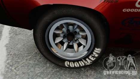 Plymouth Cuda AAR 1970 для GTA 4 вид сзади