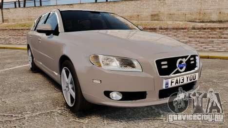 Volvo V70 Unmarked Police [ELS] для GTA 4