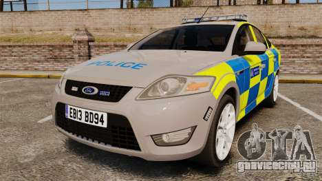 Ford Mondeo Metropolitan Police [ELS] для GTA 4