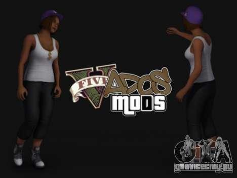 Пак скинов девушек для GTA San Andreas второй скриншот