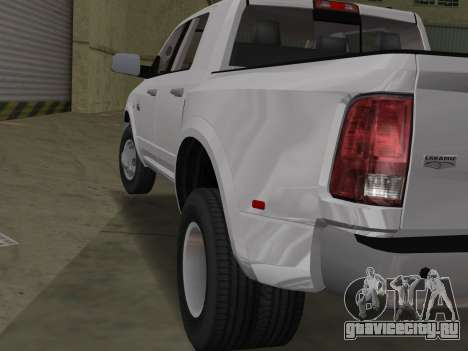 Dodge Ram 3500 Laramie 2012 для GTA Vice City вид справа