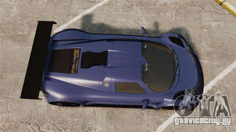 Gumpert Apollo S 2011 для GTA 4 вид справа