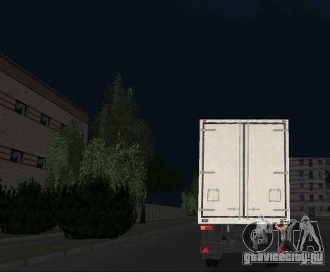 ОдАЗ 9754 Изотерма для GTA San Andreas вид слева