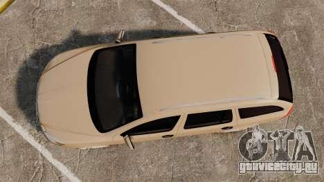 Skoda Octavia RS Stock для GTA 4 вид справа