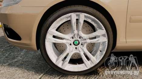 Skoda Octavia RS Stock для GTA 4 вид сзади