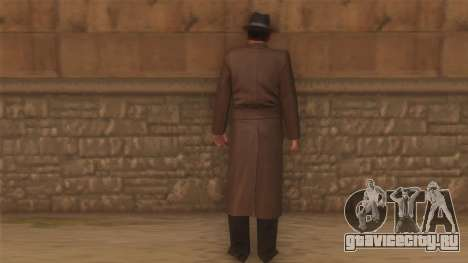Сэм из Мафии для GTA San Andreas второй скриншот