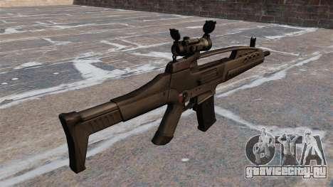 Автомат HK XM8 для GTA 4 второй скриншот