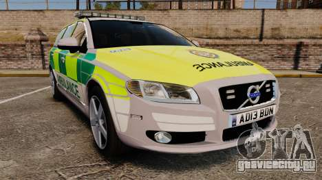Volvo V70 Ambulance [ELS] для GTA 4