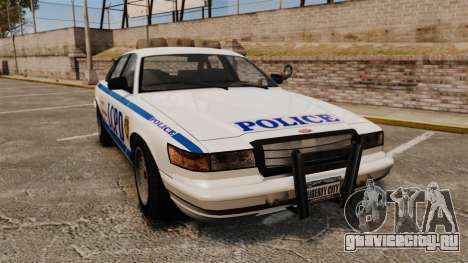 Vapid Police Cruiser v2.0 для GTA 4