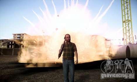 Lester из GTA V для GTA San Andreas третий скриншот