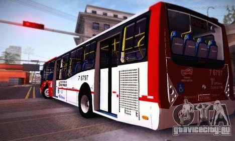 Caio Millennium II Volks 17-240 для GTA San Andreas вид сзади слева