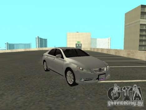 Toyota Mark X для GTA San Andreas