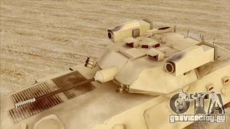LAV-25 Пустынный камуфляж для GTA San Andreas вид справа