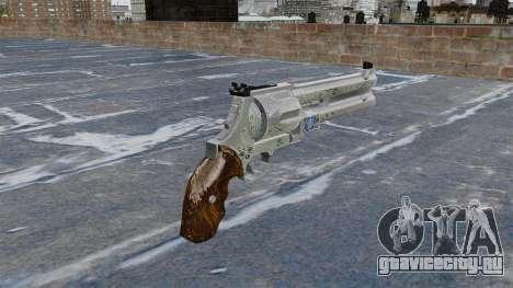 Револьвер -Blue Rose- для GTA 4 второй скриншот