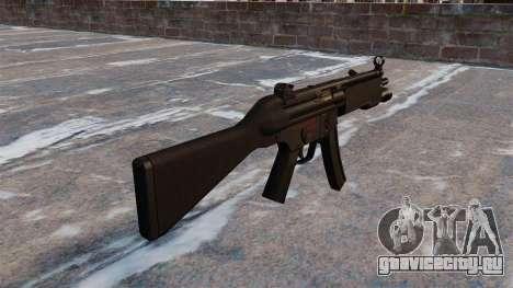 Пистолет-пулемёт HK MP5 для GTA 4 второй скриншот