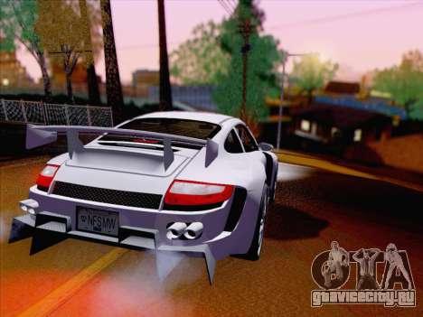 Porsche Carrera S для GTA San Andreas вид справа