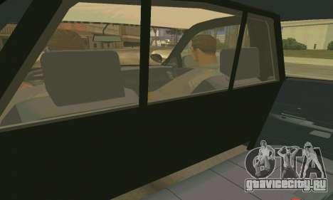 Ford Crown Victoria Police LV для GTA San Andreas салон