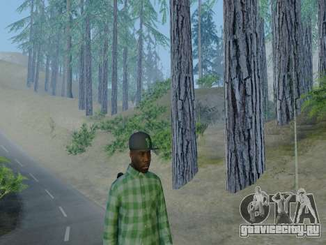 Член банды Grove Street из GTA 5 для GTA San Andreas пятый скриншот